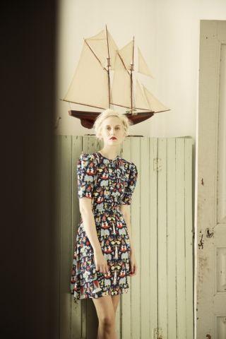 Pouta dress. Shop: http://shop.ivanahelsinki.com/collections/moomin-by-ivana-helsinki/products/pouta
