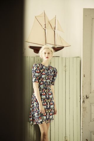 Pouta dress. Shop: http://shop.ivanahelsinki.com/collections/moomin-by-ivana-helsinki/products/pouta