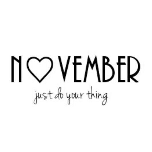 November qoute