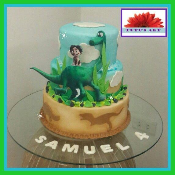 Good Dinosaur Cake Decorations : The Good Dinosaur Cake by Tutu s Art. Tutu s Art ...