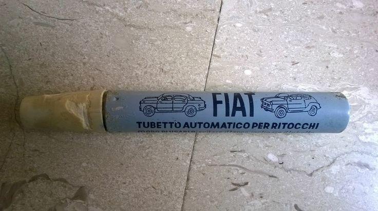 Oggetti strani AUTOMOBILI ANNI 50/60 FIAT Tubetto automatico per ritocchi