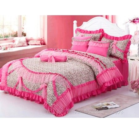 98 Best Girls Lace Ruffle Bedding Images On Pinterest