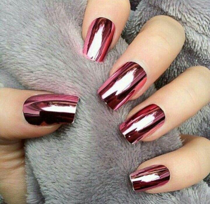 Metal rojo