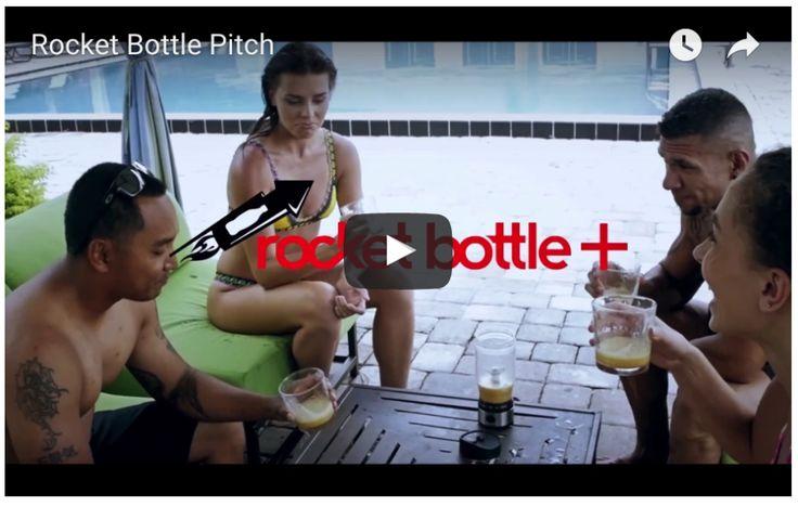 Rocket Bottle Plus Launches Mobile Smoothies / Margaritas Blender/Shaker Machine via Upcoming Kickstarter Crowdfunding Campaign