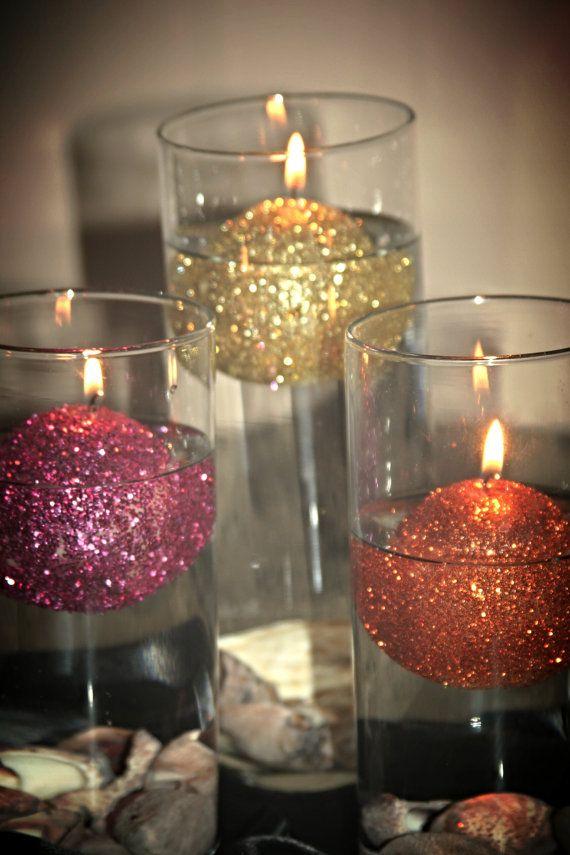 25 Best Ideas About Glitter Candles On Pinterest