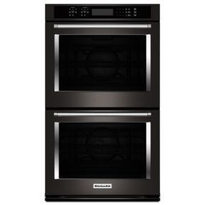 KitchenAid® 30 Double Wall Oven with Even-Heat™  True Convection (KODE500EBS) | kitchenaid®