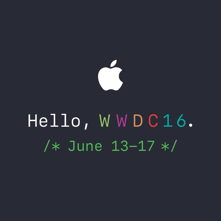 The Apple Worldwide Developers Conference (WWDC) 2016 takes place June 13-17 in San Francisco with an in-depth look at the latest in iOS, OS X, watchOS, and tvOS.