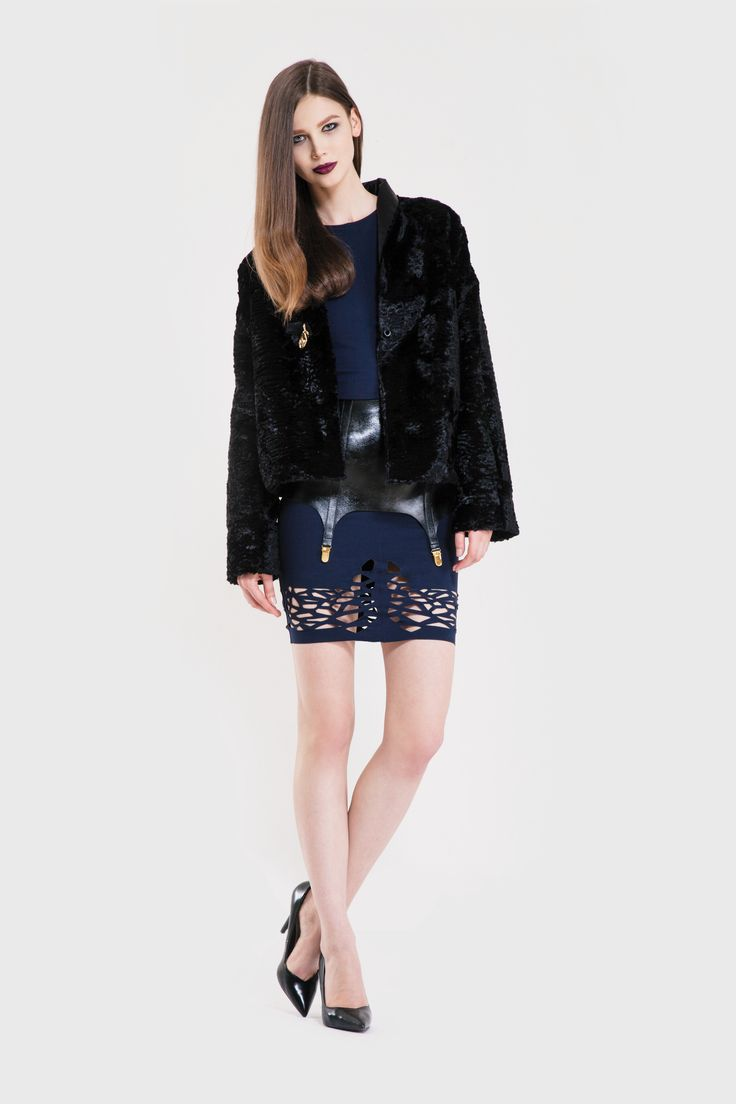 Artic jacket/ Pagan suspender/ Storm dress www.murmurstore.com