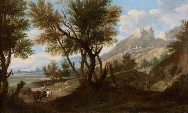 Attribué à Jacob de HEUSCH (1657 - 1701)