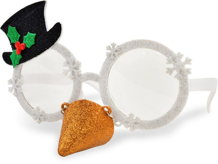 Celebrate Shop Snowman Novelty Sunglasses, Created for Macy's