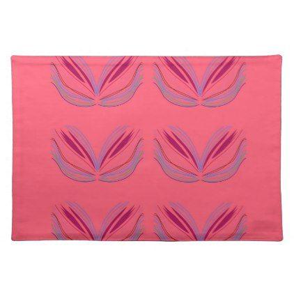 Wellness mandalas Pink Placemat
