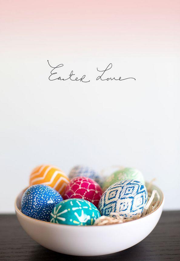 The Alison Show: DIY Ukrainian (Pysanky) Easter Eggs.