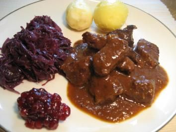 Wildschwein-Gulasch - Rezept
