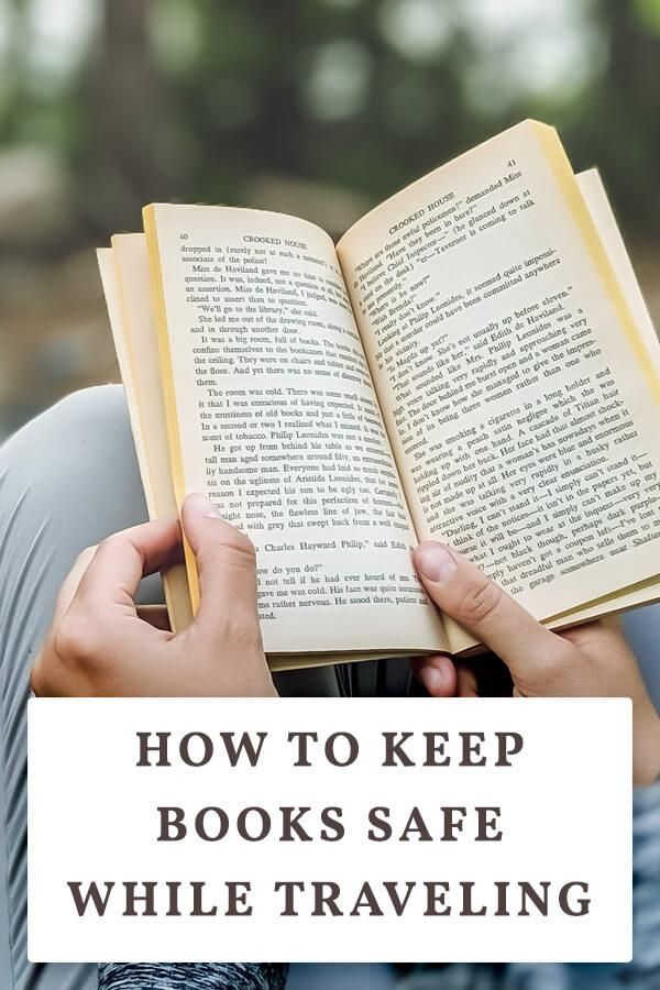 How To Keep Books Safe While Traveling Book Safe Books Buy Used Books