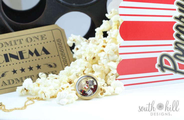 Movie themed locket