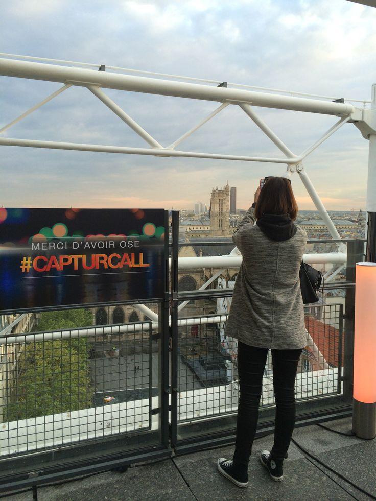 Exposition privatisée Henri Cartier-Bresson au Centre Pompidou ! #CapturCall #Paris #Beaubourg #buildings #view