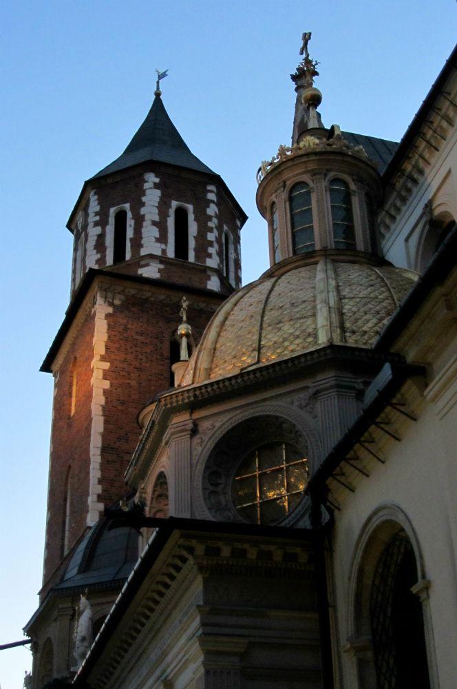 Détail de la cathédrale du Wawel - coeur historique de Cracovie - Pologne Krakow