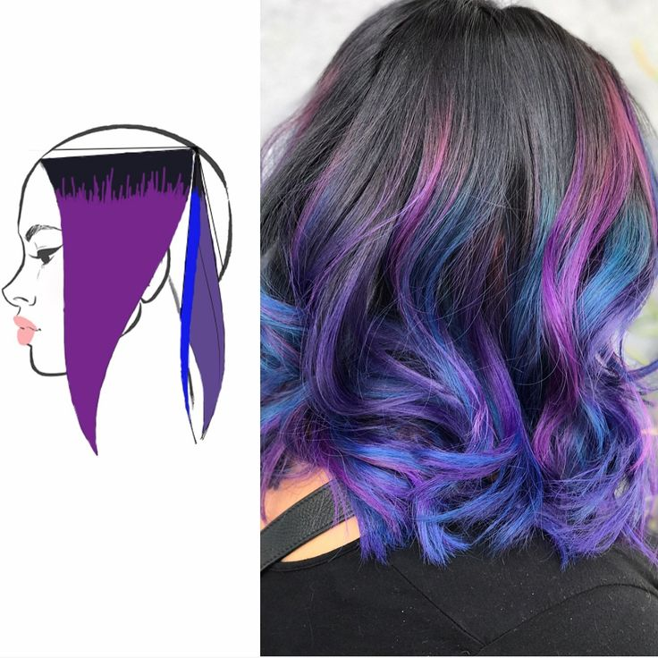 So I said I'd break down all three of these looks and here it is. Thankfully for me they're all the same placement lol so I didn't have to change the headsheet, just the color scheme :). Great example though of how the same placement can look on different hair types and change so drastically with your formula choice. I loved all three of the finished looks. Hard to pick a favorite if you have any questions on the placement, colors, or anything else, lemme know ❤️