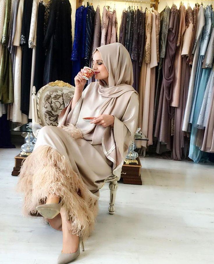 IG:Tbkaraca || Abaya Fashion|| IG: Beautiifulinblack