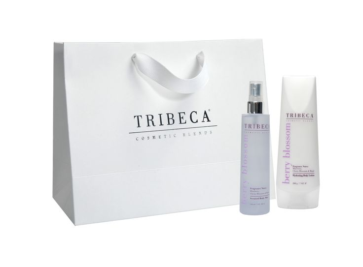 TRIBECA Scented Body Mist + Hydrating Body lotion