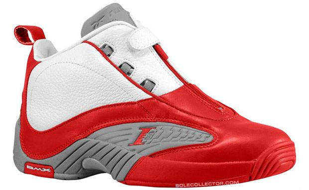 "Reebok Answer IV White/Red Release Date    ""Add another OG basketball classic to the already long list of holiday season releases. The Reebok Answer IV will launch in the White/Red-Flat Grey colorway on November 30th... Allen Iverson made this makeup popular during the 2000-01 NBA season."""