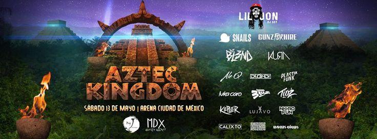 Aztec Kingdom es el primer festival de música electrónica que te transportará al Imperio Azteca, entra a café y cabaret y descúbrelo.