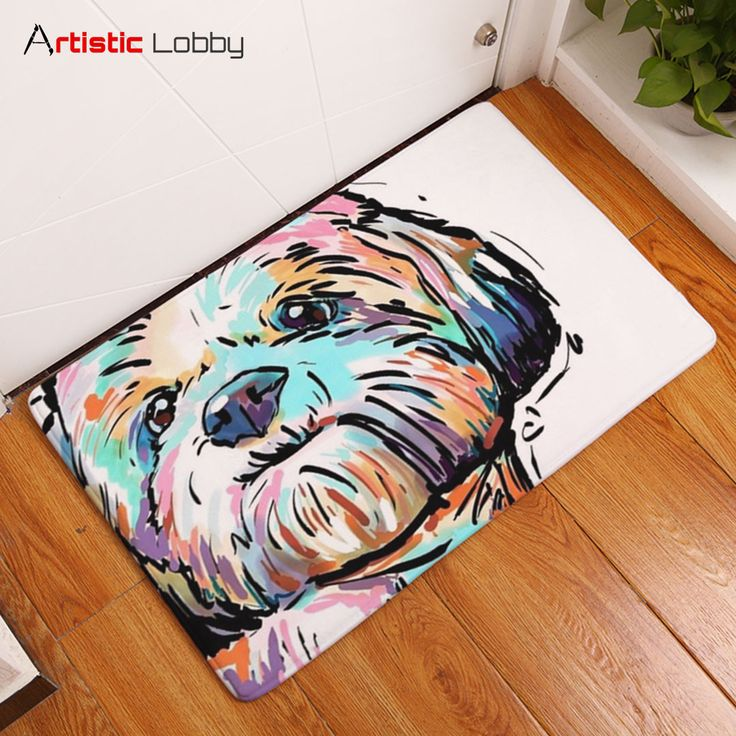 Lovely Painting Dog Anti-slip Floor Mat. Tag a friend who needs this! 😍  📦 Worldwide Shipping 🔥 Extremely high demand! 🔺 GET YOURS VIA LINK IN BIO 💡 Follow Artistic Lobby for more ideas!   #homedecor #home #homedesign #homedecordesign #homedesignideas #decoration #art #artoftheday #life #lifestyle #lifestyleblogger #dog #dogs #dogsofinstagram #ilovedogs