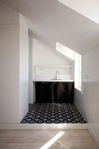 José Adrião Arquitectos,  Apartment in Campo de Ourique, Lisboa, Portugal