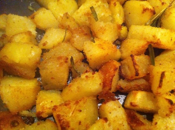 Patate al forno gratinate