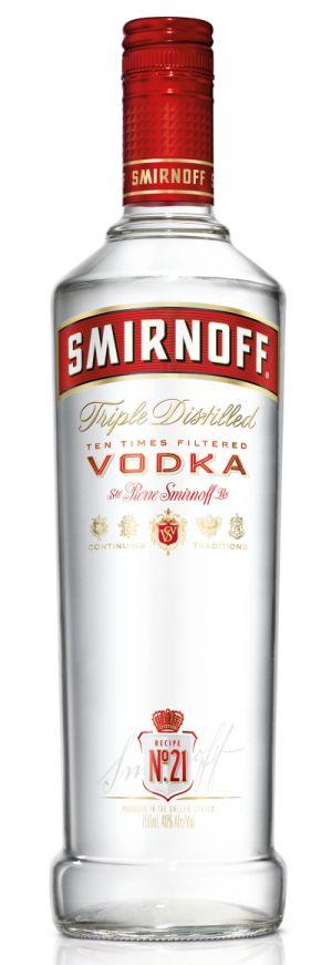 Smirnoff redesign their bottle and design