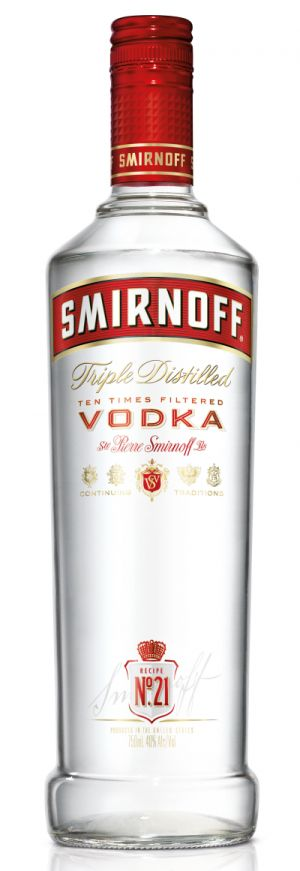 Smirnoff redesign their bottle and design