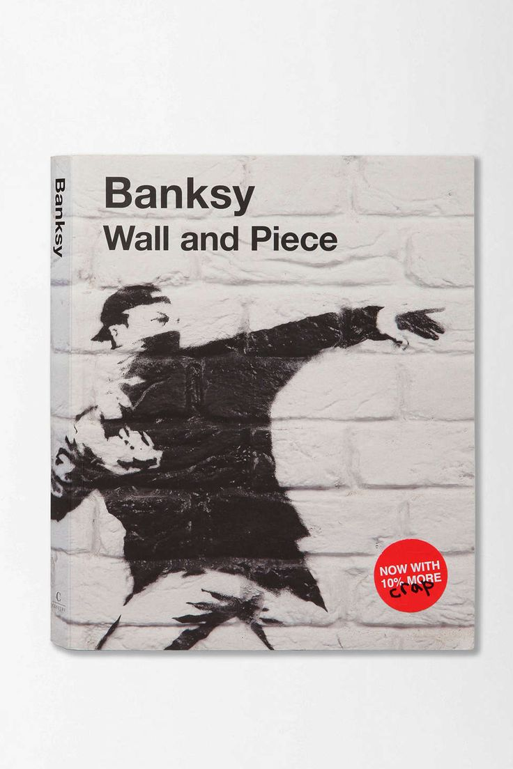 Banksy Coffee Table Book Wall And By