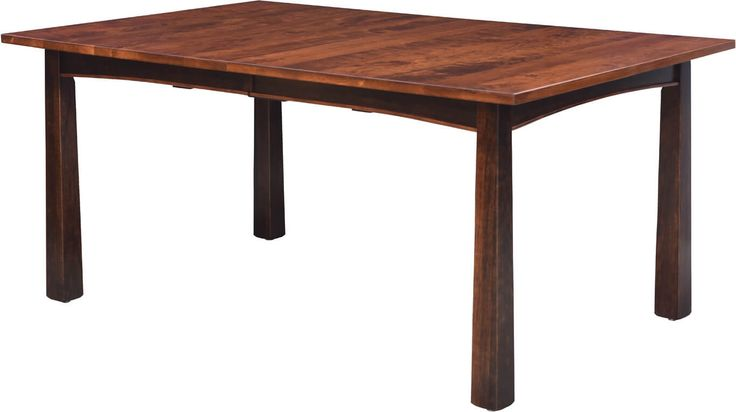 Exeter Modern Dining Table With Flared Legs Self Store