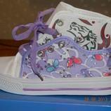 Кроссовки walker фиолетовые
