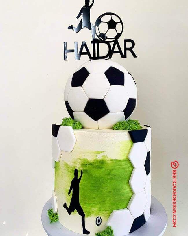 50 Soccer Cake Design Cake Idea October 2019 In 2020 Soccer Cake Soccer Birthday Cakes Football Themed Cakes