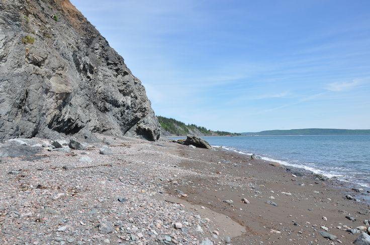 beach at Chignecto
