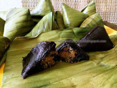 Resep Kue Bugis Ketan Hitam   Resep Kue Basah Indonesia (Indonesian Food Recipe)
