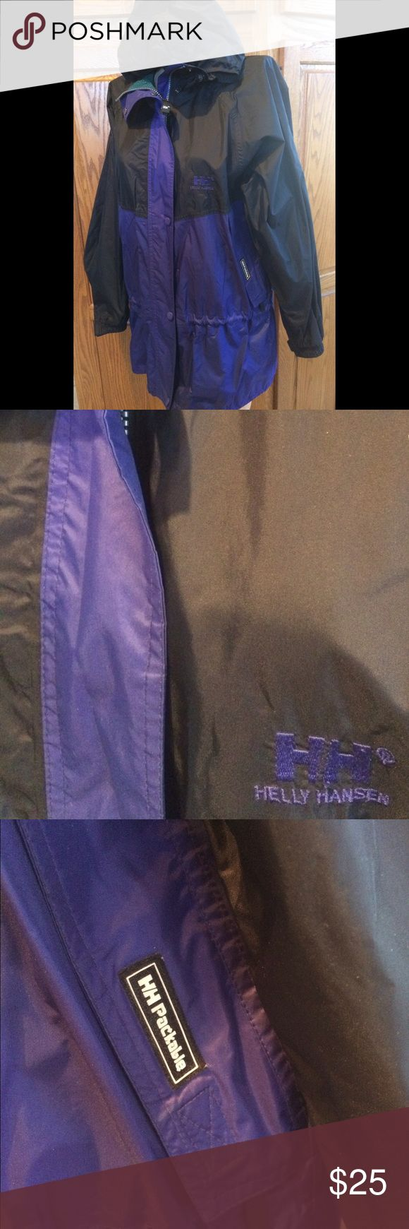 Helly Hansen Packable jacket men small Great condition without flaws, hardly worn. Helly Hansen Jackets & Coats