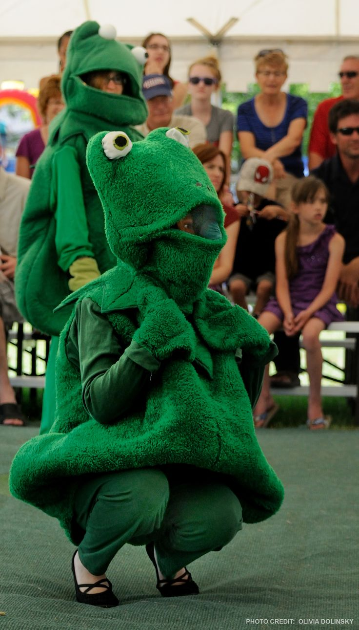Frog Follies in St-Pierre-Jolys is fun for the whole family.