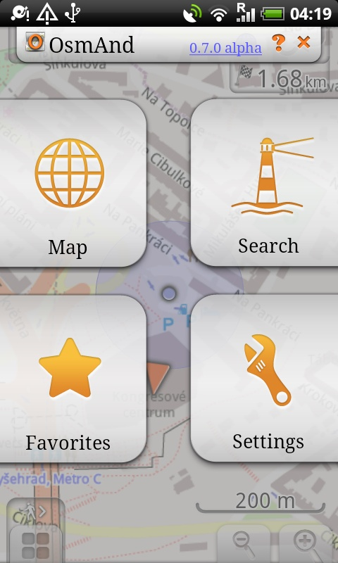 из бесплатных для андроидов - лучшая навигация