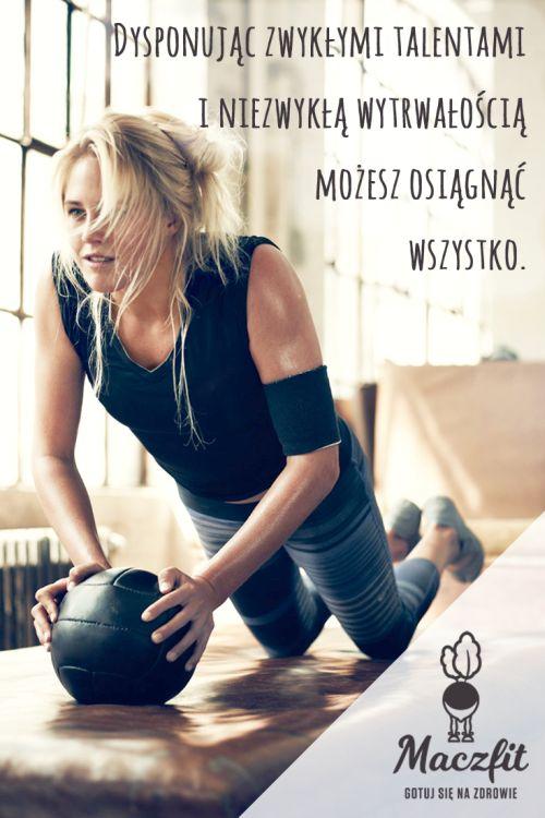 Wykorzystaj swój potencjał! #gym #sport #motywacja #workout #ćwiczenia #fit #shape #perfect #body #determinacja #dieta #catering #maczfit