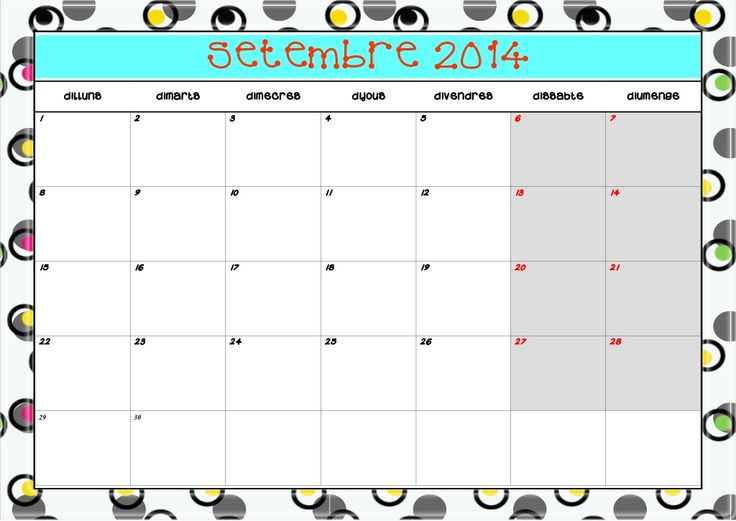 Agenda 2014 15 by Montse Casas Bul via slideshare