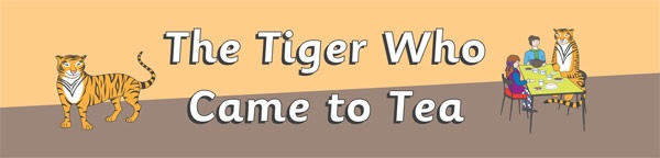 'The Tiger Who Came To Tea' Large Display Banner