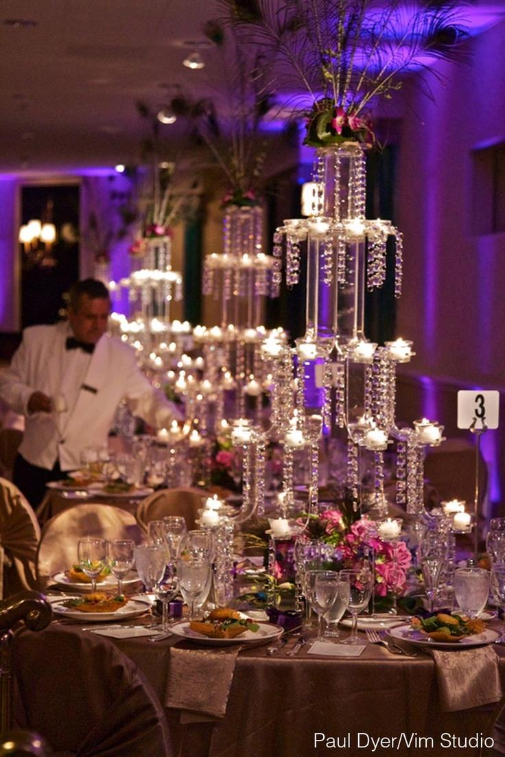 Evening Candlelight Crystal Wedding