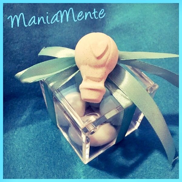 Confettata mongolfiera. ManiaMente handmade