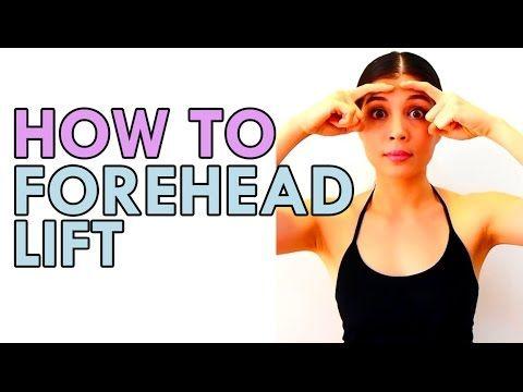 HOW TO: FOREHEAD LIFT WITH FACE YOGA โยคะใบหน้า ยกกระชับหน้าผาก #iHealth...
