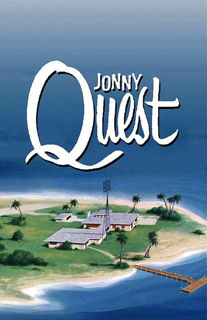 Jonny Quest Headquarters: Palm Key