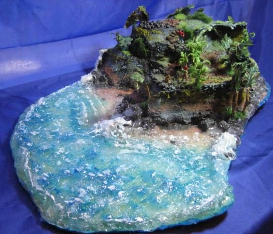 tropical island diorama  first place tg  by mumsy