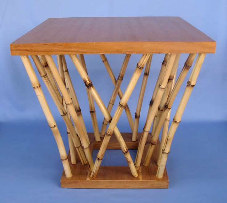 Bamboo Table With Design: 10+ Best Ideas About Bamboo Furniture On Pinterest