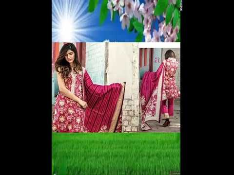 Firdous Luxury Lawn Collection 2017